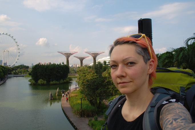 Genähte Kleinigkeit und große Reise - ich in Singapur - Zebraspider DIY Anti-Fashion Blog
