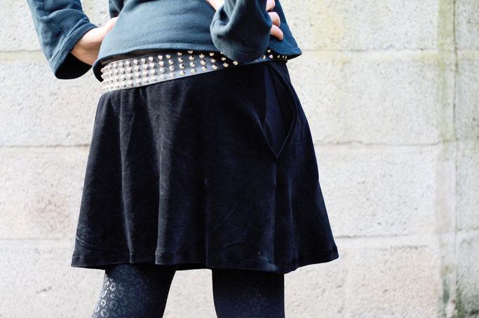 Meine Art des Feminismus und ein Rock - bequemer Nickirock - Zebraspider DIY Anti-Fashion Blog