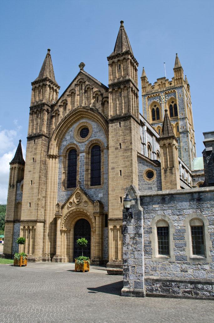 Zum Urlaub nach Cornwall - Buckfast Abbey Kloster Kirche - Zebraspider DIY Anti-Fashion Blog