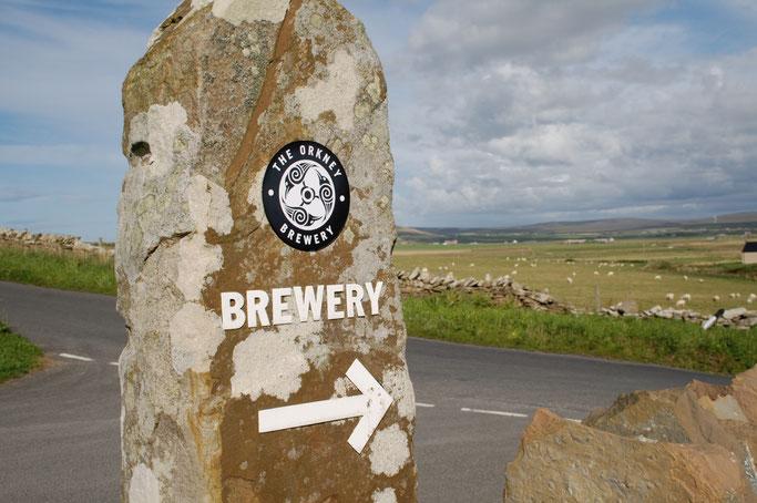 Urlaub Orkney Inseln - Orkney Brewery - Zebraspider DIY Anti-Fashion Blog