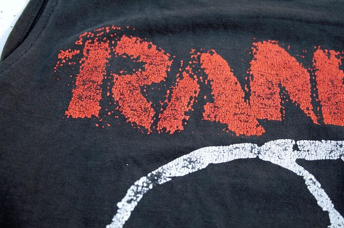 So verbringe ich den Samstag am liebsten - altes Rancid Shirt - Zebraspider DIY Anti-Fashion Blog