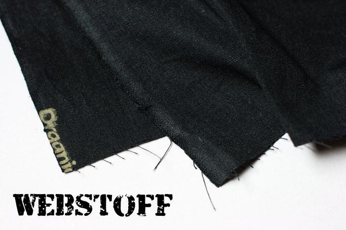 Die Suche nach dem perfekten Aufnäherstoff - Webstoff bio &fair - Zebraspider DIY Anti-Fashion Blog