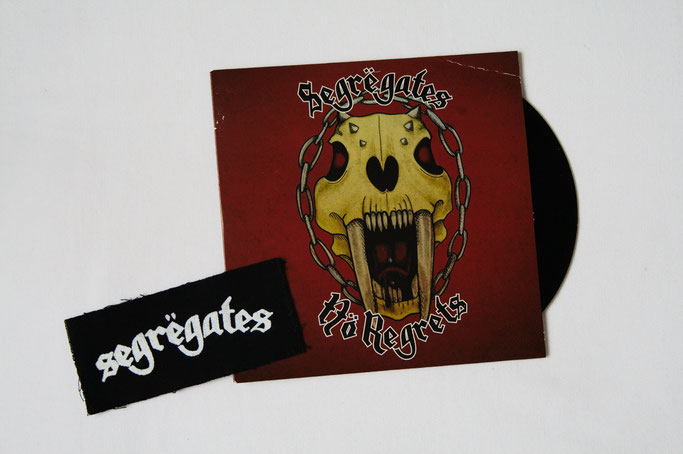 Neue Weste - neue Punk-Musik - Segregates EP - Zebraspider DIY Anti-Fashion Blog