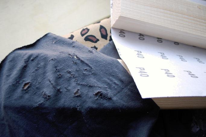Wie steht's mit der Apokalypse? - Sandpapier - Zebraspider DIY Anti-Fashion Blog