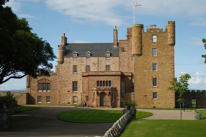 Urlaub in Schottland Teil 1 - Castle of Mey - Zebraspider DIY Anti-Fashion Blog