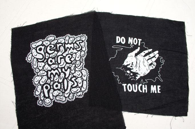 Wo ich politische Aufnäher kaufe - Patches von RetirementFund - Zebraspider DIY Anti-Fashion Blog