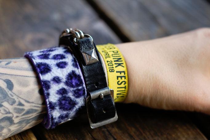Manchester Punk Festival + Outfits - Armbänder und Festival-Bändchen - Zebraspider DIY Anti-Fashion Blog