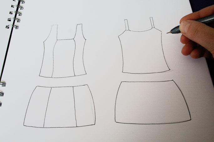 Umwelt oder Menschen? - Tops und Röcke - Zebraspider DIY Anti-Fashion Blog