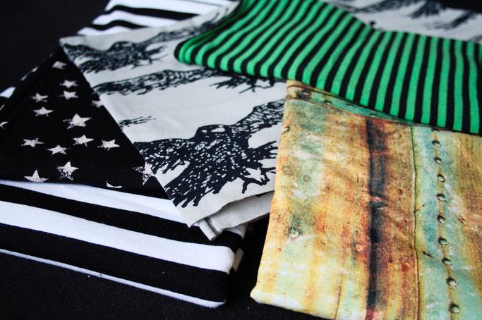 Warum Zebraspider immer grüner wird - Biostoffe mit Muster - Zebraspider DIY Anti-Fashion Blog