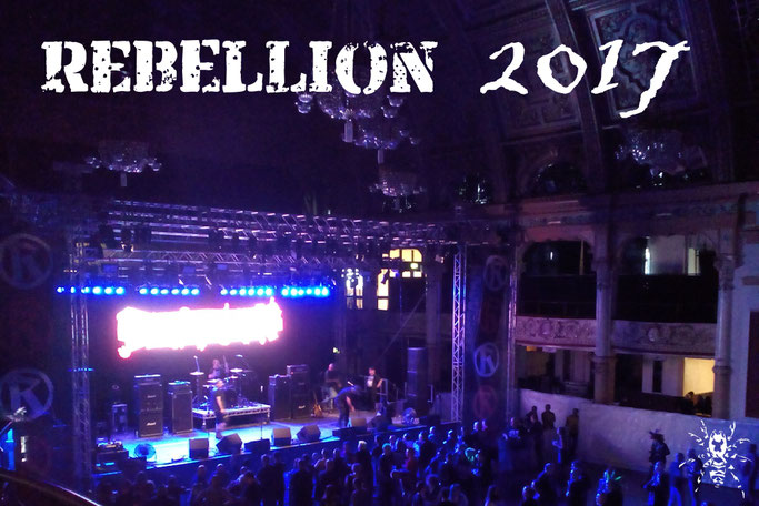 Rebellion Festival 2017 - Empress Ballroom - Zebraspider DIY Anti-Fashion Blog
