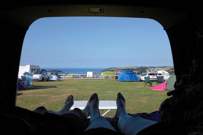 Zum Urlaub nach Cornwall - Meerblick Camping - Zebraspider DIY Anti-Fashion Blog