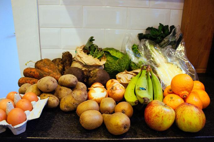 Warum wir trotz allem bleiben - Biokiste Obst und Gemüse - Zebraspider DIY Anti-Fashion Blog
