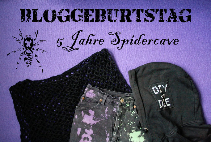 Bloggeburtstag - 5 Jahre Spidercave! - Zebraspider DIY Anti-Fashion Blog