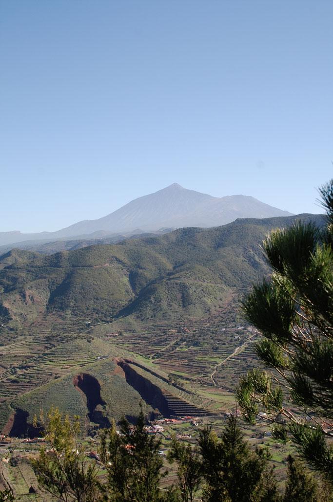Teneriffa statt Weihnachten - Pico del Teide vom Westen - Zebraspider DIY Anti-Fashion Blog