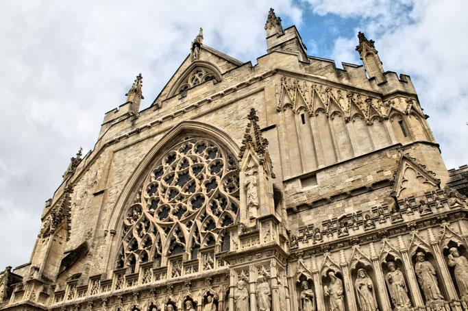 Zum Urlaub nach Cornwall - Exeter Kathedrale - Zebraspider DIY Anti-Fashion Blog
