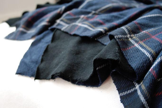 Wie wasche ich selbst genähte Sachen? - Jersey Rock unversäubert - Zebraspider DIY Anti-Fashion Blog