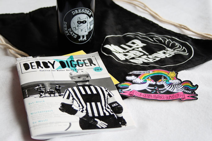 Yorkshire Roller Derby - Dresden Merch und Derby Digger - Zebraspider DIY Anti-Fashion Blog