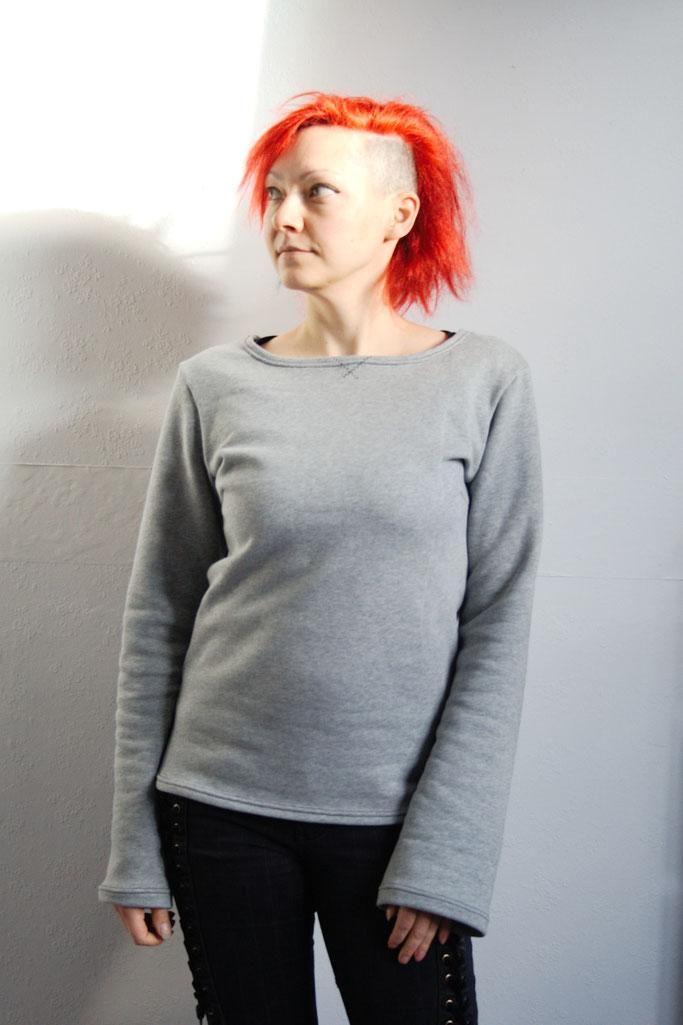 Ungleicher Klon Bio-Pulli - Sweatshirt aus Biobaumwolle - Zebraspider DIY Anti-Fashion Blog