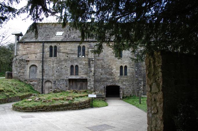 Die Ruinen der Fountains Abbey - alte Mühle - Zebraspider DIY Anti-Fashion Blog