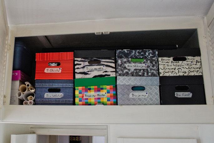 Warum Zebraspider immer grüner wird - Vorrat an Biostoffen - Zebraspider DIY Anti-Fashion Blog