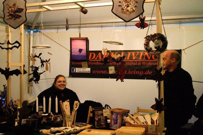 Schattenmarkt des Owls 'n' Bats 2017 - DarkLiving - Zebraspider DIY Anti-Fashion Blog