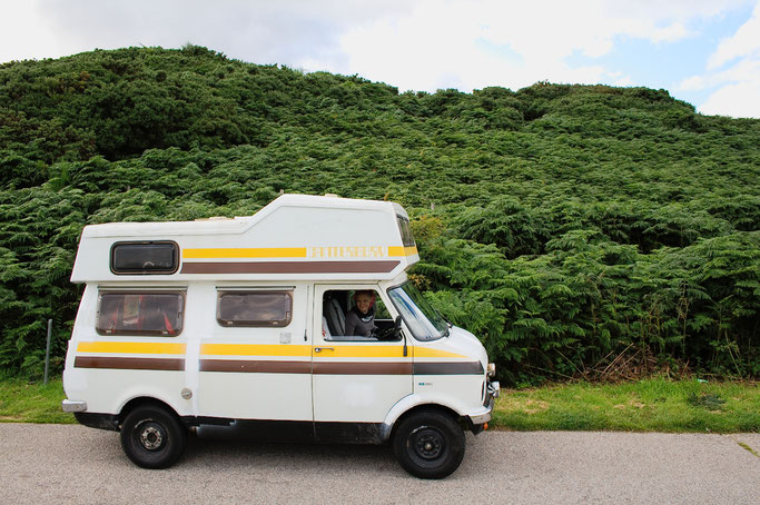Urlaub in Schottland Teil 1 - Campervan Wohnmobil - Zebraspider DIY Anti-Fashion Blog