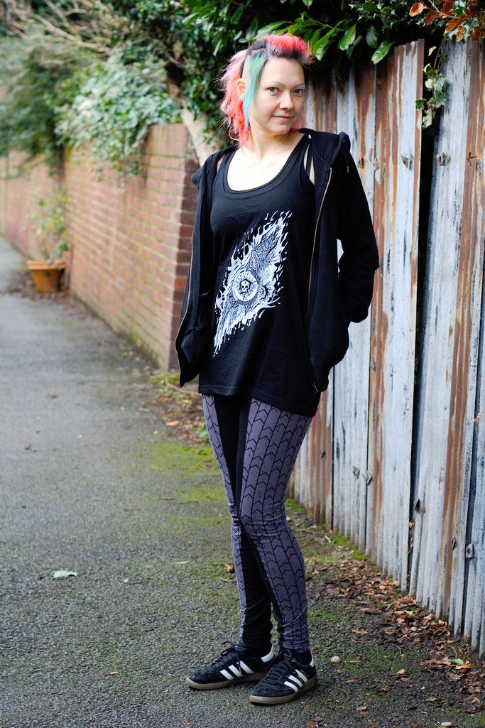 Citrus Leggings Schnittmuster getestet - sportliches Outfit - Zebraspider DIY Anti-Fashion Blog