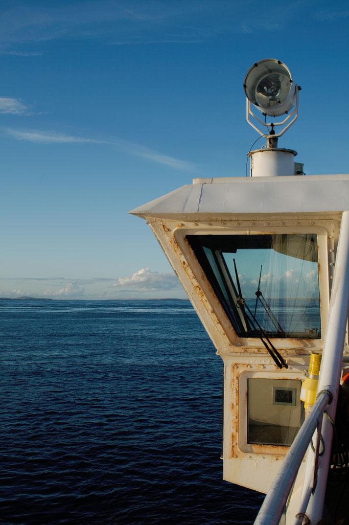 Urlaub Orkney Inseln - Meer und Fähre - Zebraspider DIY Anti-Fashion Blog