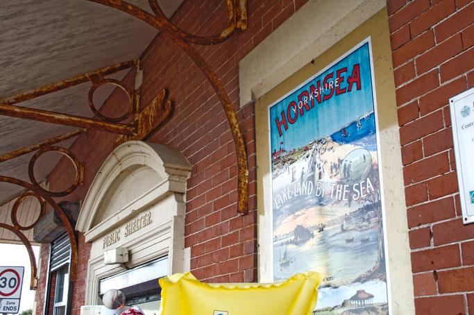 Ausfahrt zum Strand - Hornsea public shelter - Zebraspider DIY Anti-Fashion Blog