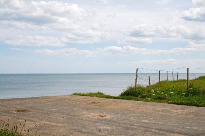 Ausfahrt zum Strand - Yorkshire Küste bei Skipsea - Zebraspider DIY Anti-Fashion Blog
