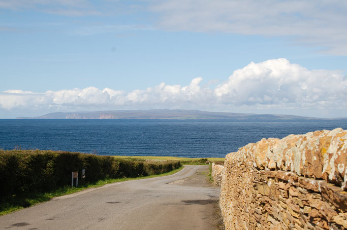 Urlaub in Schottland Teil 1 - Castle of Mey Orkney Blick - Zebraspider DIY Anti-Fashion Blog