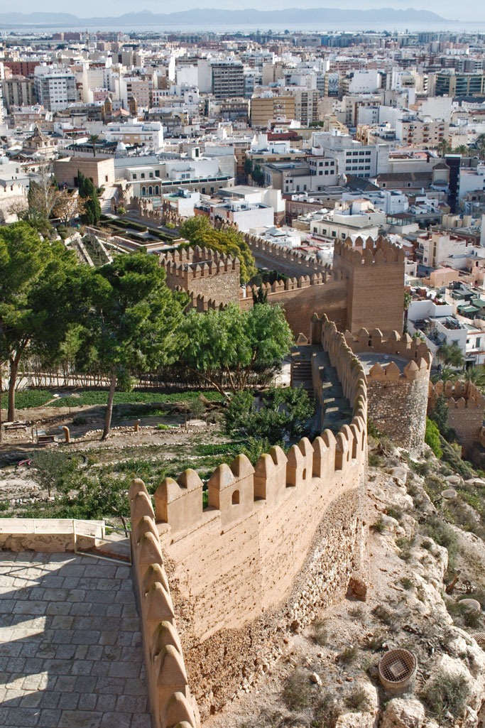 Weihnachten in Andalusien (viele Fotos) - La Alcazaba Almeria Festungsmauer - Zebraspider DIY Anti-Fashion Blog