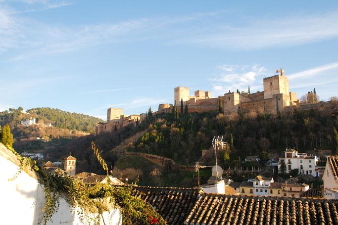 Ein Tag in Granada - Alhambra von der Altstadt - Zebraspider DIY Anti-Fashion Blog