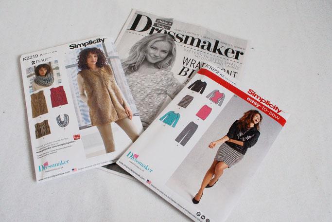 Anders Nähen in England - Dressmaker Simplicity Schnittmuster - Zebraspider DIY Anti-Fashion Blog