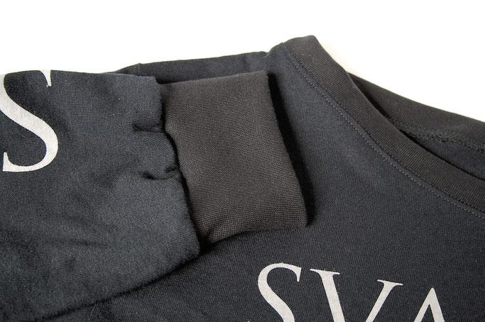 MPF Entdeckungen + Bandshirt-Upgrade - Svalbard Longsleeve mit neuen Bündchen - Zebraspider DIY Anti-Fashion Blog