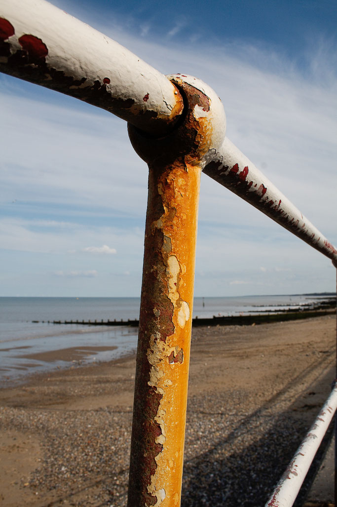 Ausfahrt zum Strand - Promenade und Strand in Hornsea - Zebraspider DIY Anti-Fashion Blog