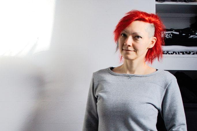 Warum ein werbefreier Blog - Biopulli nähen - Zebraspider DIY Anti-Fashion Blog