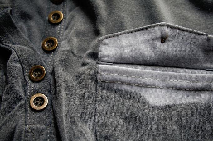 Umfärben mal anders - von weiß nach grau - Zebraspider DIY Anti-Fashion Blog