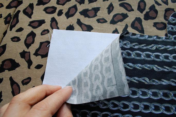 Nähen ist wie zaubern können - Auftrag Gürteltasche Kettenstoff - Zebraspider DIY Anti-Fashion Blog