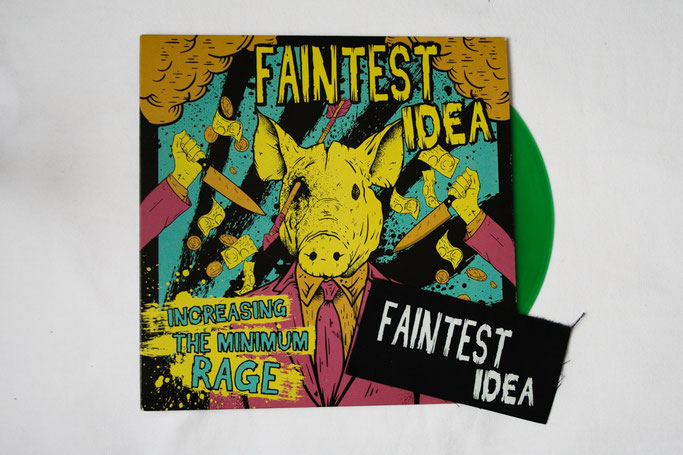 Neue Weste - neue Punk-Musik - Faintest Idea LP - Zebraspider DIY Anti-Fashion Blog
