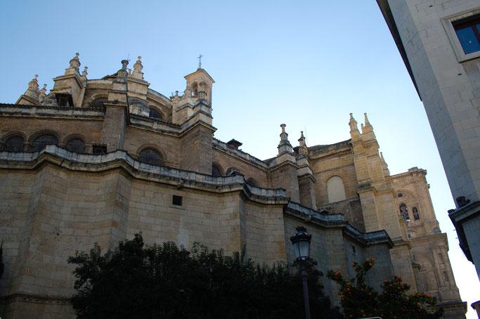 Ein Tag in Granada - Kathedrale Santa María de la Encarnación - Zebraspider DIY Anti-Fashion Blog