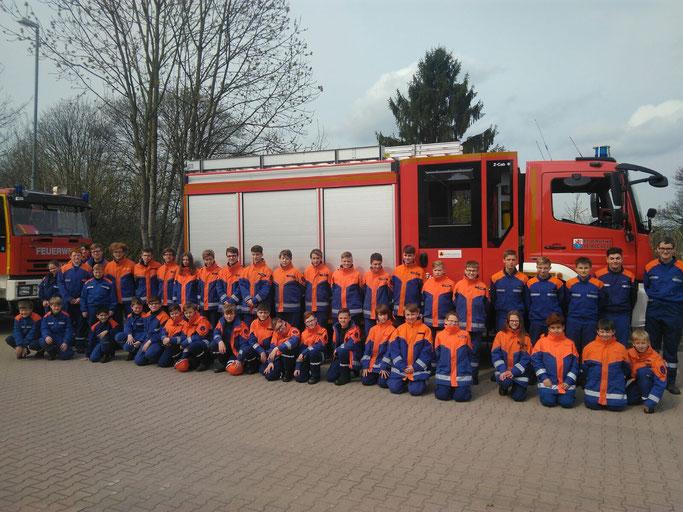 Jugendfeuerwehr, LüBo, Feuerwehr Remscheid