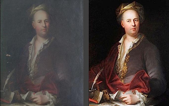 Restaurierung Gemälde und Rahmen Wien Gregor Eder