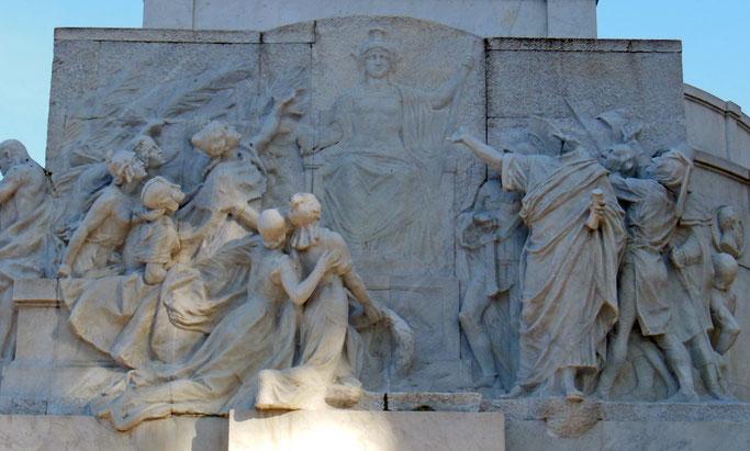 Monumento a Giuseppe Mazzini, Roma (particolare)