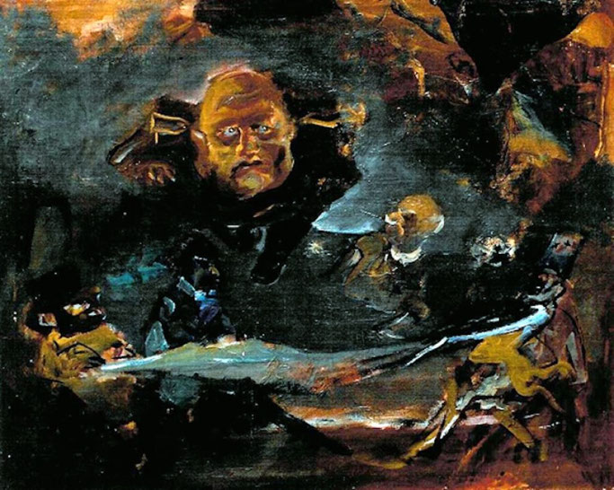 "Mino Maccari, ""Mussolini"" (1943)"