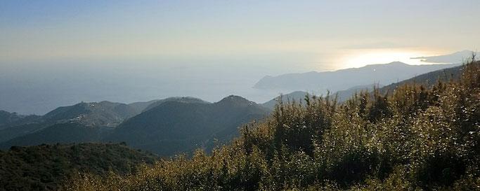 玄岳山頂より 南の展望