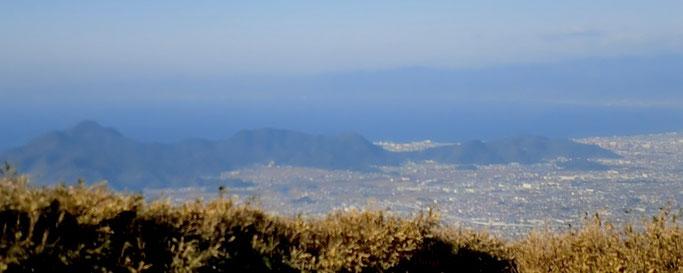 玄岳山頂より 西の展望