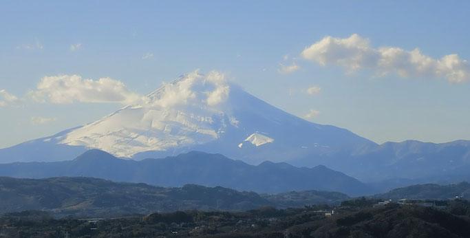 湘南平より 富士山