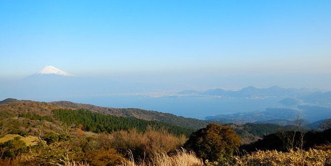 富士・沼津アルプス・淡島