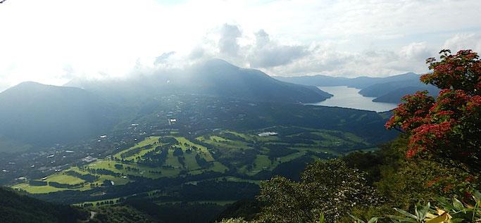 芦ノ湖、箱根内輪山、仙石原